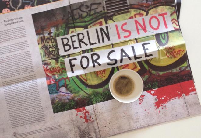 CB.e, Berlin is not for Sale, Samstagskaffee, Vipp