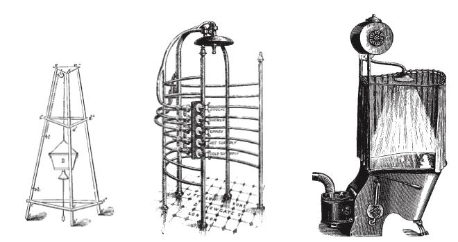 Grohe, Duschsystem, Paul Flowers, Innovation, Armaturen, Badezimmer, historische Duschen, Duschen im Wandel