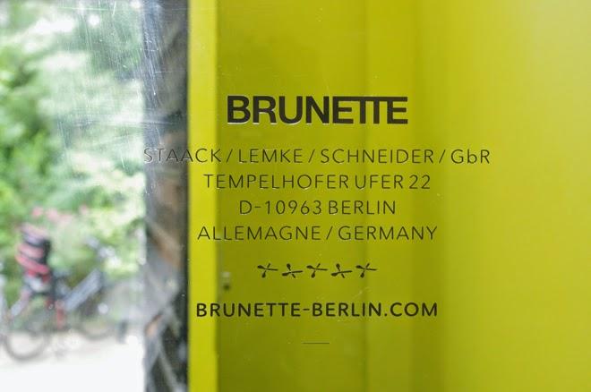 BRUNETTE Berlin, Park am Gleisdreieck, Tempelhofer Ufer, Hinterhoffriseur, Friseursalon, Henry, Lars, André, Berlin, Deserve, Medienbüro