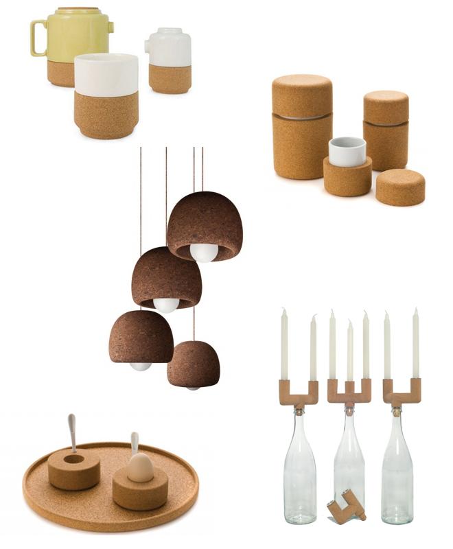 Teeservice von von Raquel Castro | Cocoon Cup von Simple Form Design | Lampe PRB von Simple Form Design | Cocoon Egg Cup von Simpe Form Design | Kerzenständer 'Rolha' von Fernando Brizio für Corque Design