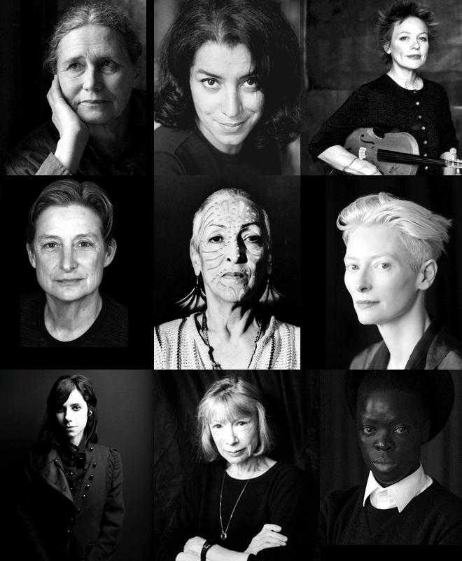 Heldinnen, Tilda Swinton, Laurie Andersen, p.j. harvey