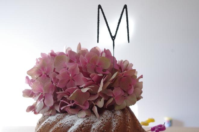 Geburtstagskuchen, Kindergeburtstag, Lieblingsblumen