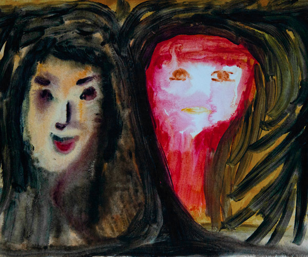 Seeing Her Ghosts, Kirsten Becken, Schizophrenie