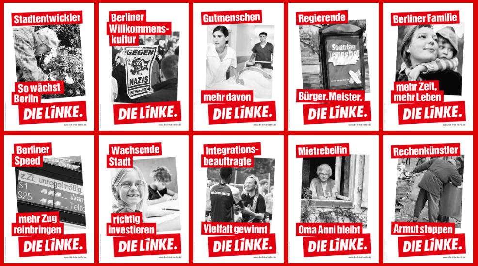 DIE LINKE Berlin, Wahlkampagne 2016