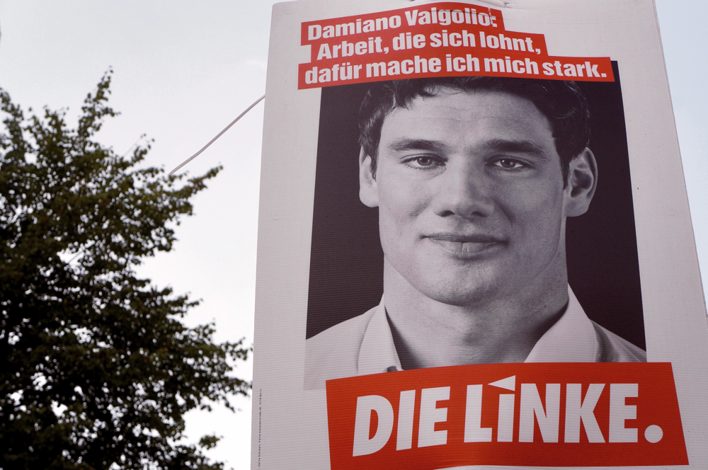 Damiano Valgolio, DIE LINKE, Friedrichshain, Berlin