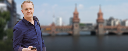 Goetz Mueller Direktkandidat der CDU Kreuzberg-Friedrichshain