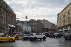Moskauer Verkehr