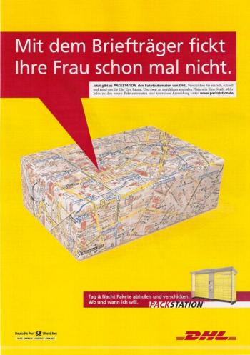 """Rike Drust """"Mit dem Briefträger fickt Ihre Frau schon mal nicht"""""""
