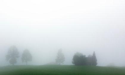 Nebelwolken in den Bergen