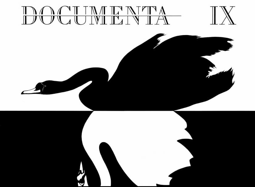 documenta IX Plakat Logo
