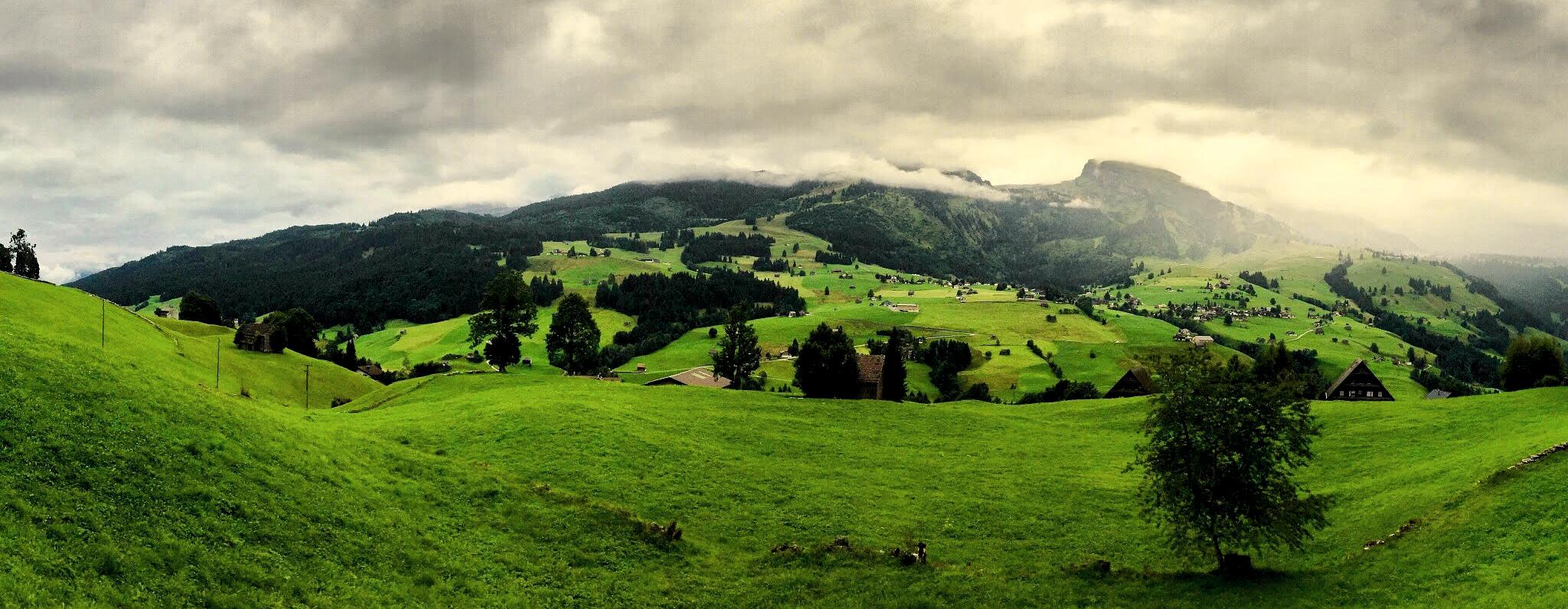 Wolken Toggenburg Schweiz Berge