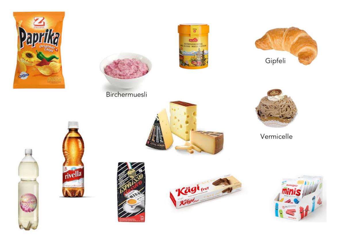 Lebensmittel aus der Schweiz