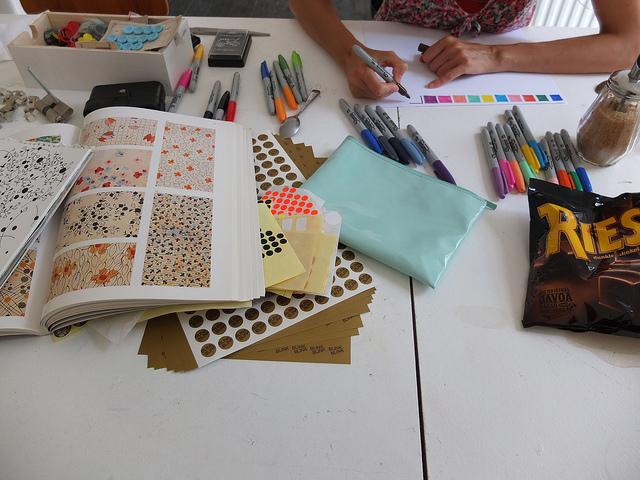 Anna Niestroj studio blinkblink & Mønster Patterns