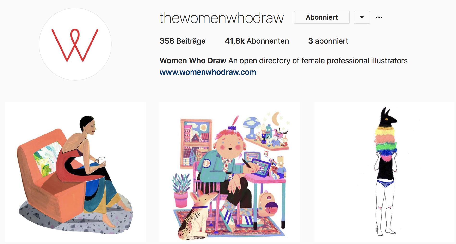 Feminismus auf Instagram