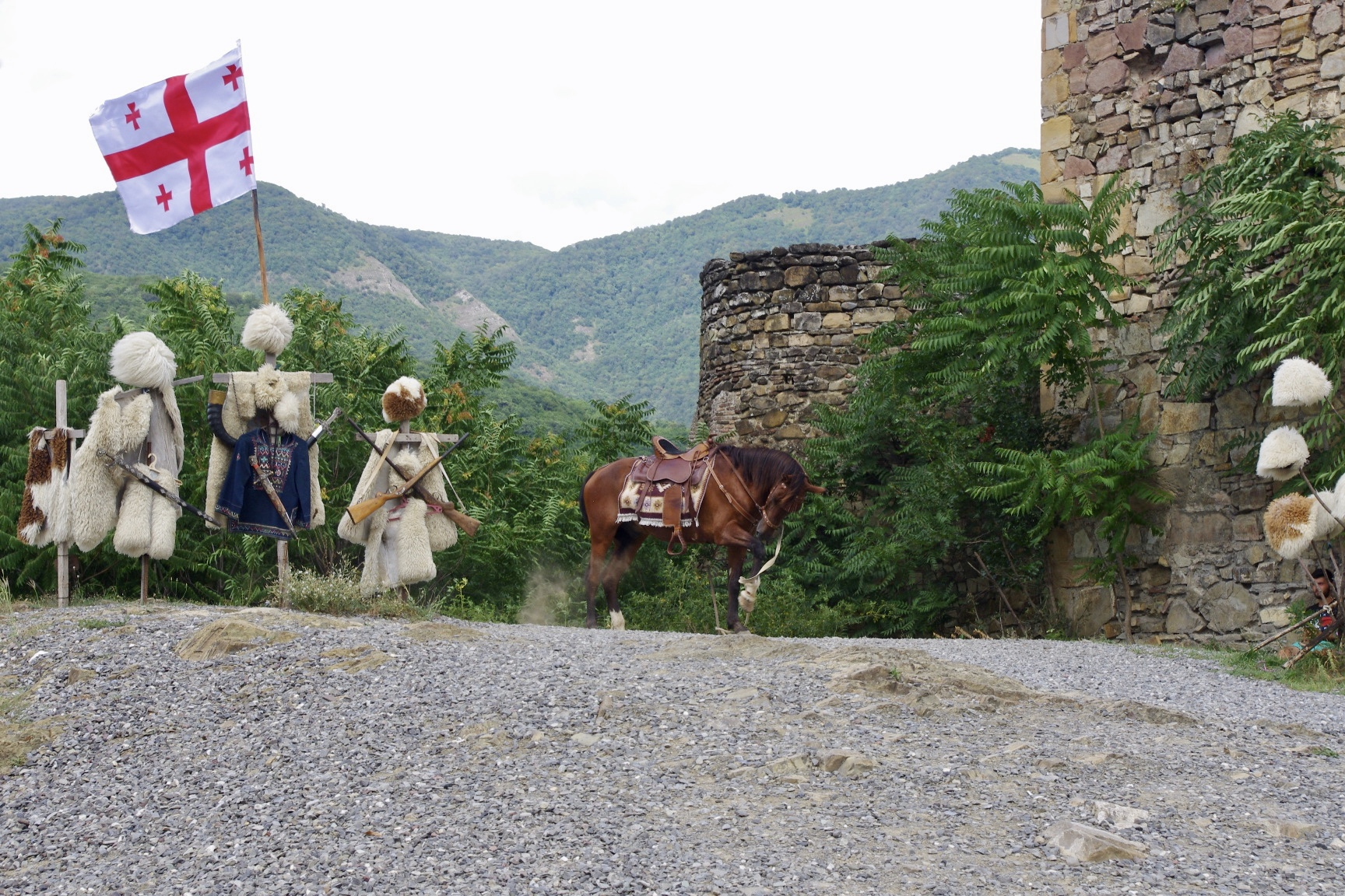 Ananuri Festung Georgien