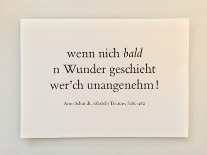 Zettls Traum Arno Schmidt #wunder