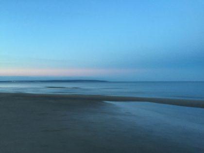 Sonnenuntergang Blaue Stunde Rügen Binz
