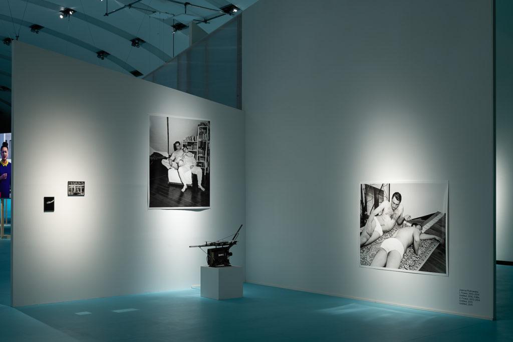 Ausstellungsansicht: Antarktika. Eine Ausstellung über Entfremdung, Kunsthalle Wien 2018, Foto: Jorit Aust: Joanna Piotrowska. I, Frowst, 2013–2014; V, Frowst, 2013–2014; Untitled, 2015; Untitled, 2016, Courtesy Southard Reid, London & Dawid Radziszewski Gallery, Warschau